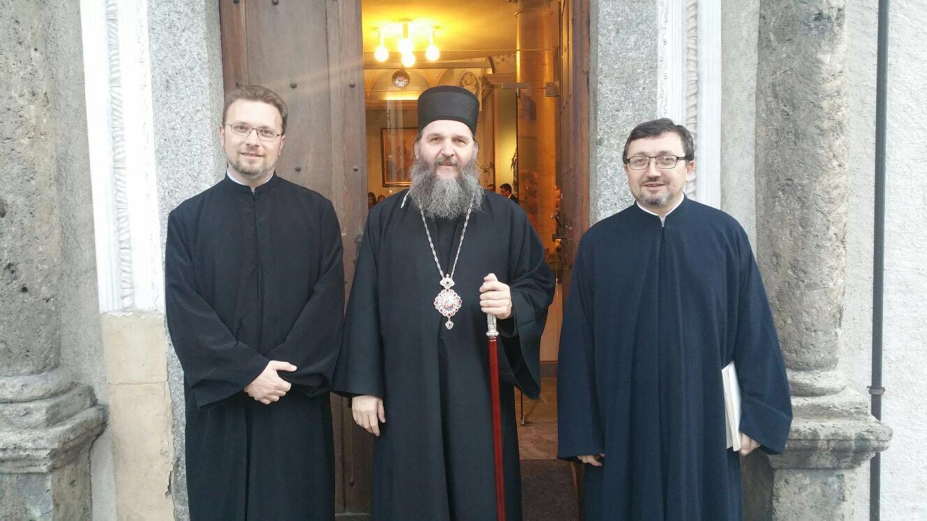 Вечерња служба у Сијеру и Света Архијерејска литургија у Лозани